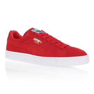 BASKET PUMA Baskets Suede Classic - Homme - Rouge