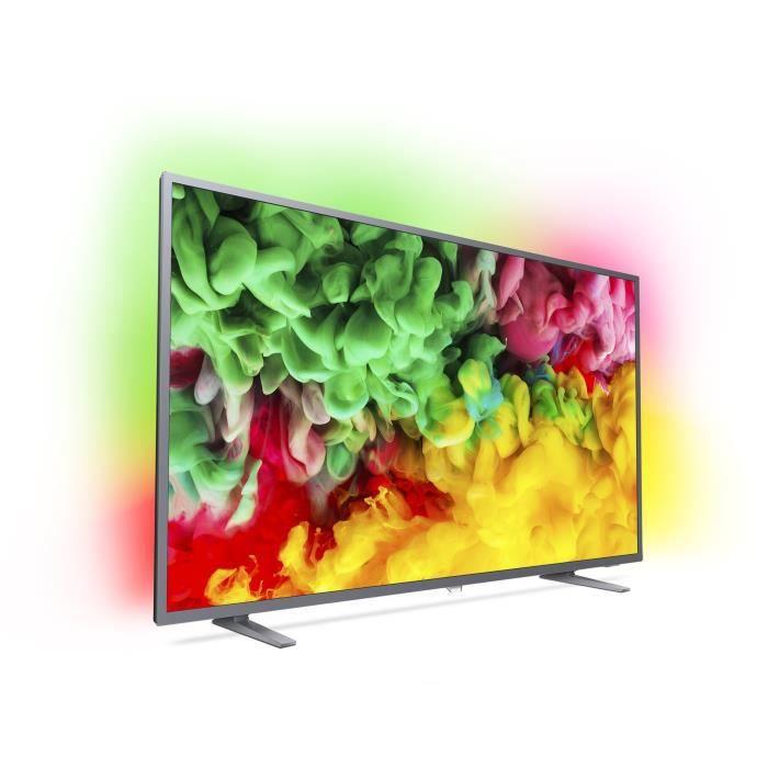 """Téléviseur LED PHILIPS 50PUS6703/12 TV LED 4K 126 cm (50"""") - Ambi"""