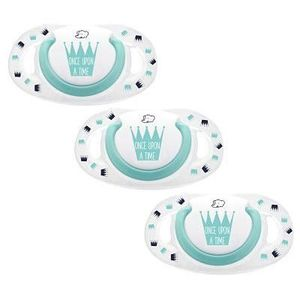 BEBE CONFORT Sucette Dental Safe 6-18 mois x3 - Silicone - Edition limitée Once Upon A Time