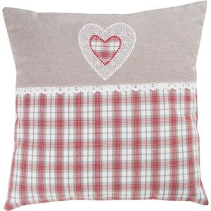 DEKOANDCO Coussin Country - 40x40