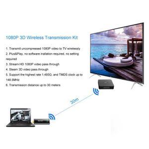 TÉLÉCOMMANDE TV MEasy vidéo sans fil HDMI émetteur et récepteur po