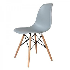 CHAISE CHAISE TOWER WOOD GRISE EXTRA QUALITY