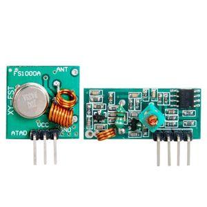 OUTILS - FIXATION Émetteur RF 433Mhz & récepteur Kit pour Arduino...