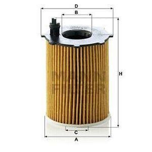 FILTRE A HUILE MANN FILTER Filtre à huile HU716/2X