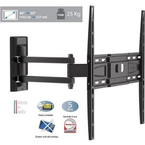 FIXATION - SUPPORT TV MELICONI CME EDR-400 Support TV mural 40