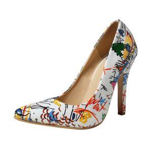693dc4e356085 ESCARPIN Chaussures à talons hauts de femmes sauvages Point