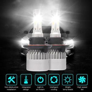 PHARES - OPTIQUES 2 pcs de voiture LED Phare, Gogo Roadless 36W 8000