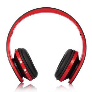CASQUE - ÉCOUTEURS casque de Bluetooth stéréo sans fil pliable pour o 85a24e0b24b1