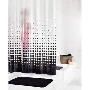 Rideau douche plastique - Achat / Vente pas cher
