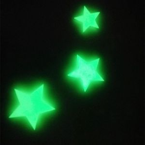 DRAPEAU DÉCORATIF Les etoiles brillent dans l'obscurite Autocollants