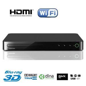 LECTEUR BLU-RAY TOSHIBA BDX5400KE Lecteur Blu Ray 3D Wifi