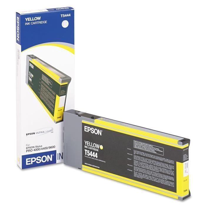 EPSON Cartouche d'encre T5444 - Jaune - Capacité standard 220ml