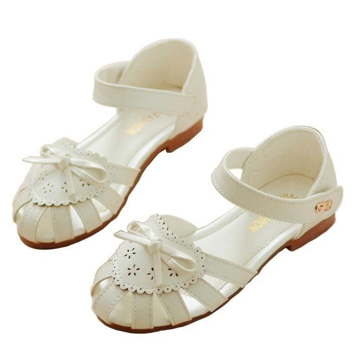 Sandales Enfants Filles Sandales d'été Baotou Bébés filles Belle Princesse Chaus XeXUzG