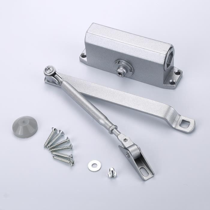 Lot Fermeporte Automatique En Alliage DAluminium Commercial Avec - Ferme porte automatique