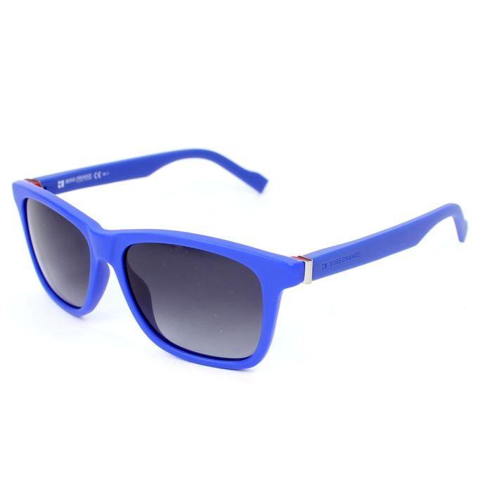 Lunettes de soleil Boss Orange BO0117 S Bleu, v… Orange, Bleu, Gris ... bd063c83e0c2