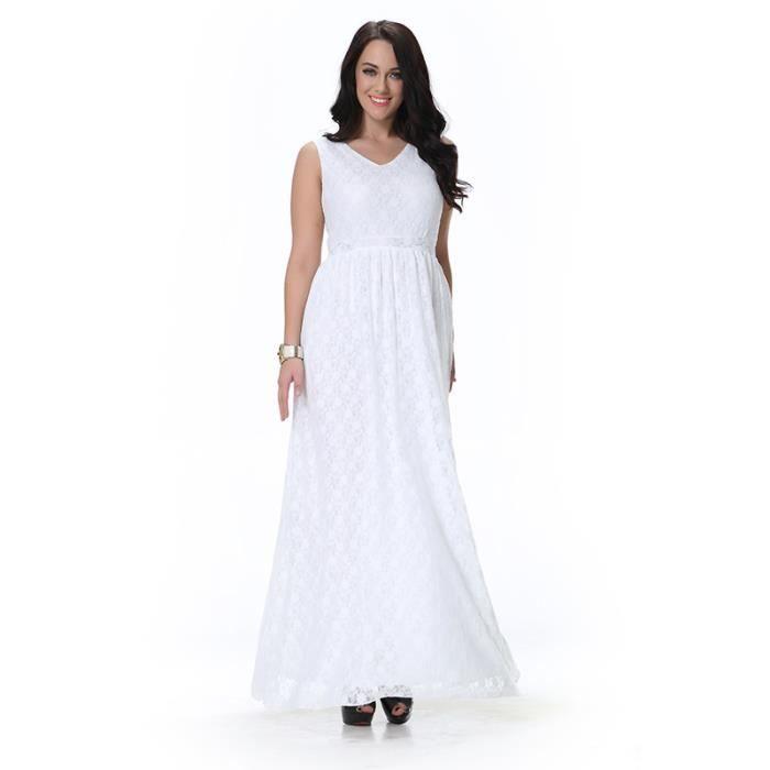 Femme Robe Solide Blanc Rayures Sans ManchesAmincissant élégante Naturel Pour Toutes Les Occasions Eté Cool Frais Longue