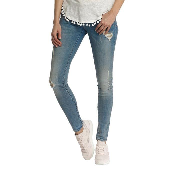 af861b425b15d Kaporal Femme Jeans    Jean skinny JAPS Bleu Bleu - Achat   Vente ...