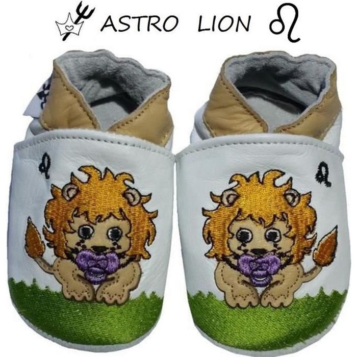 6 CUIR 12 MOIS ASTRO BEBE CHAUSSONS 7qxtTpT