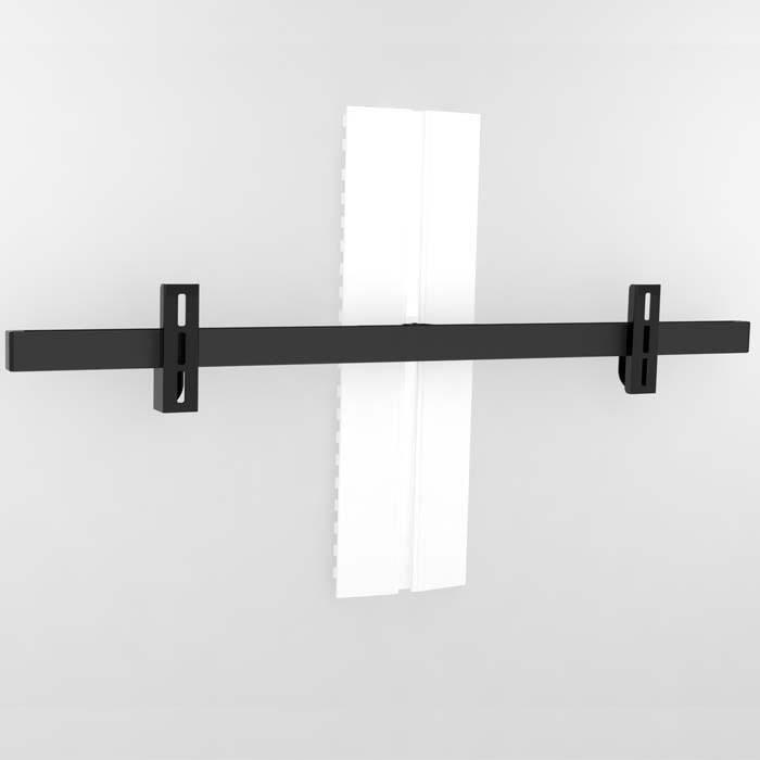 Vogel 39 s sound 3400 fixation de barre de son fixation - Fixation tele mur ...