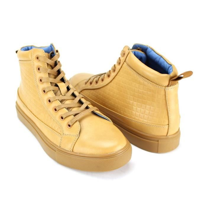 718 Marque 6731 Chaussures Mode ~ High Top ~ Sneaker Designer W8J2H Taille-44 1-2