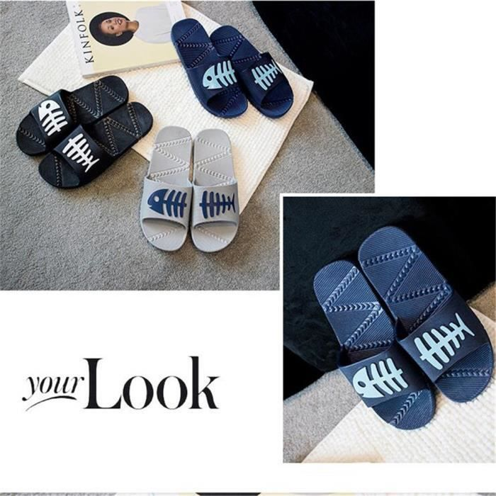 Chaussures Tongs Marque De Luxe Marque Pantoufle Loisirs Sandale Massant Fond Plat Sandale Luxe Hommes Grande Taille 40-45