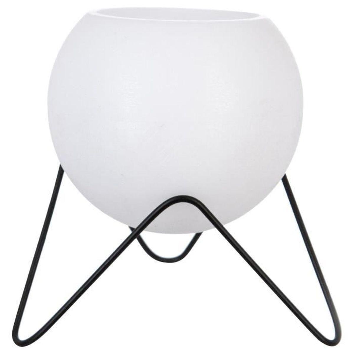 bougeoir lampe en cire avec photophore et pied achat vente bougeoir chandelier soldes. Black Bedroom Furniture Sets. Home Design Ideas