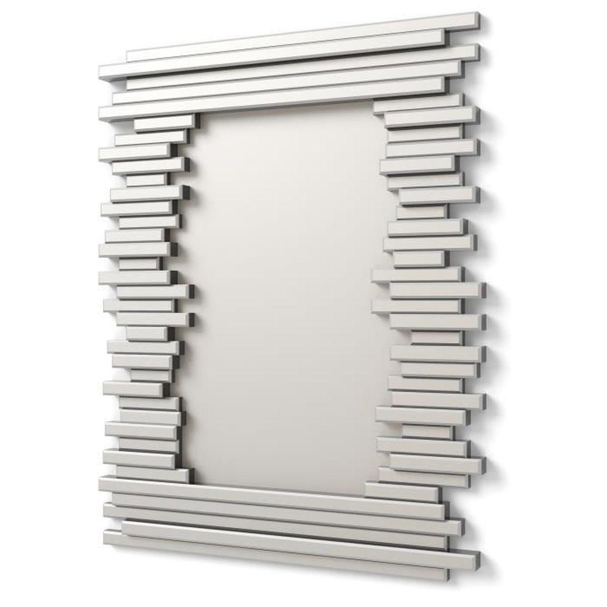 miroir mur design moderne 90x70cm e033 Résultat Supérieur 16 Incroyable Miroir Moderne Pic 2017 Iqt4