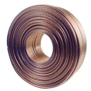 VALUELINE LSP-052RLC Câble haut-parleur en bobine - 2x 4.00 mm? - 100 m - Transparent