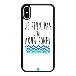 coque iphone x poney