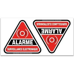 Autocollant alarme voiture norauto kamos sticker for Alarme piscine castorama