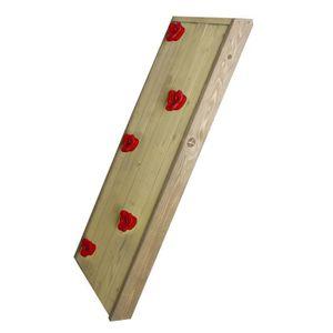 MAISONNETTE EXTÉRIEURE AXI Mur D'Escalade en bois pour balançoire ou mais