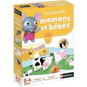JEU D'APPRENTISSAGE NATHAN La Petite Ecole - Mamans et Bébés