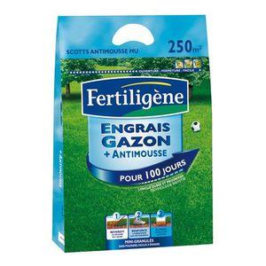 ENGRAIS Engrais gazon anti-mousses - longue durée - 10 Kg