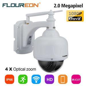 CAMÉRA IP FLOUREON IP Caméra Extérieur EU CCTV Sécurité 1080