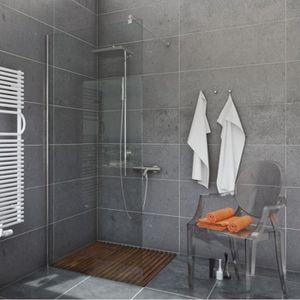 Les Salles D Eau marcher dans douche salle d'eau salle de bains de verre 8mm panneau