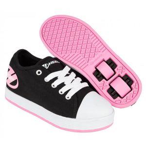 SKATESHOES Chaussures à Roulette Heelys Fresh Noir/Rose