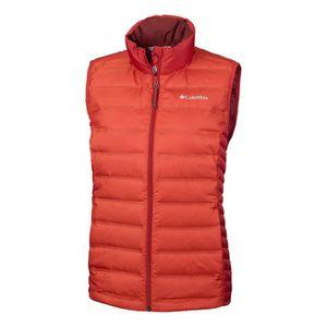 fa1bf6a3cb9 Vêtements femme Doudounes Columbia Lake 22 Rouge Rouge - Achat ...