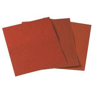 FEUILLE ABRASIVE WOLFCRAFT 1 Feuille abrasive corindon - Grain 120