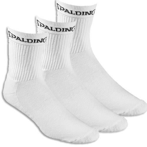 SPALDING Chaussettes Mid Basket-ball 3 Paires Basket-ball Homme BKT
