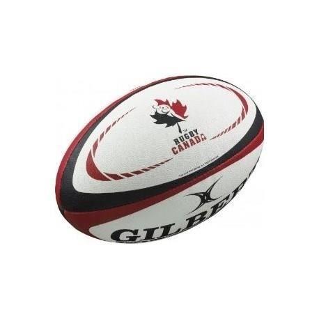 GILBERT Ballon de rugby REPLICA - Taille Mini - Canada