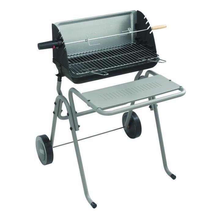 INVICTA Barbecue à bois et charbon de bois Victoria 814 - 98 x 71 x 66 cm