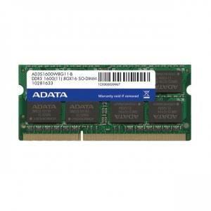 MÉMOIRE RAM Sodimm D3-1600 A-data 8Go 512*8CL11