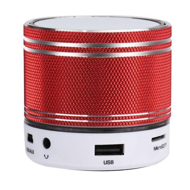Tenoens® Portable Mini Stéréo Sans Fil Bluetooth Haut-parleur Pour Samgsung Tablet Pc Rd Rouge_poi153
