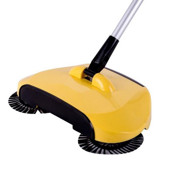 Nouvelle arrivée 360 Rotary Home utilisation Manuel Magic balayeuse télescopique de la poussière du plancher @ I03YJL70322761YE