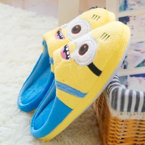 Chaussons Noir Minions 39TpW