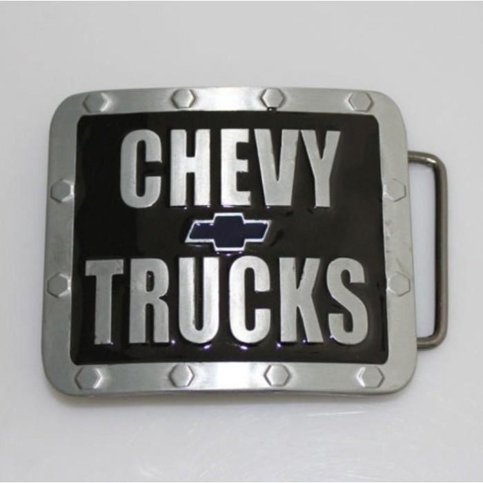e7f9a043f824 Boucle de ceinture chevy truck noir chevrolet pick up homme - Achat ...