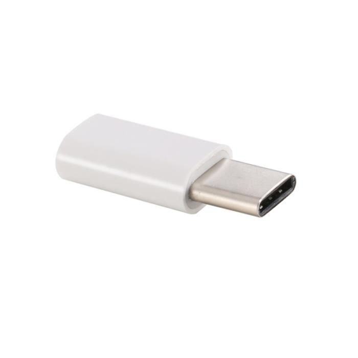 AUTRE PERIPHERIQUE USB  Adaptateur USB-C en Micro-USB usb adaptateur smart