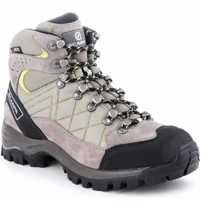 Scarpa Chaussures De Randonnée  Nangpa-la Gtx Quartz Gris - Livraison Gratuite avec  - Chaussures Chaussures-de-randonnee Femme