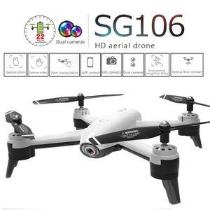 DRONE SG106 2.4Ghz 4CH Attitude WiFi 1080P Débit optique
