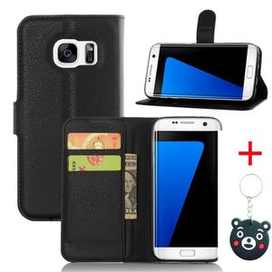 HOUSSE - ÉTUI Noir Housse Pour Samsung Galaxy S7 Edge Housse - a cfc1691f43aa